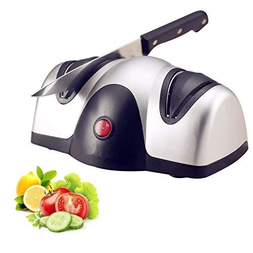 Fee-ZC Kitchen Professional Elektrische messenslijper, het beste 2-traps slijpsysteem voor slijp- en fijnslijpmessen slijpsteen messen