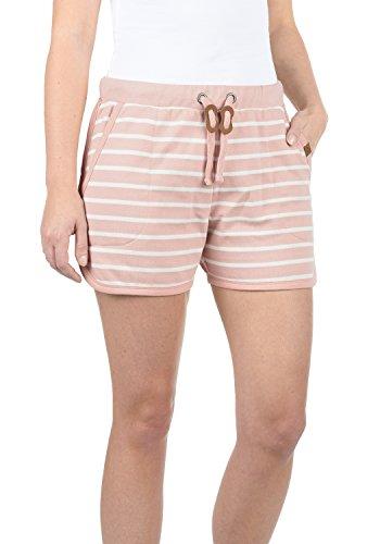 BlendShe Kira Pantalón De Chándal Corto Sweat- Shorts para Mujer con Forro Polar Suave Al Tacto