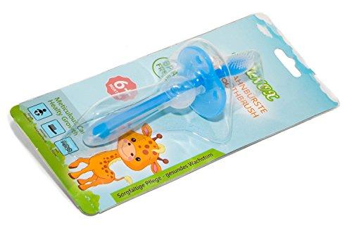 Brosse à dents pour bébé en silicone pour un nettoyage en profondeur et un massage des gencives