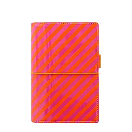 Filofax–Recambio de hojas para agenda (A5rayas de Patentes Domino Personal Organizador–naranja/rosa