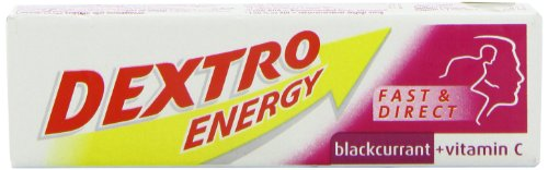 Dextro Energy Blackcurrant + Vitamin C 14 Dextrose Tablets 47g [Badartikel]