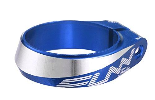 Funn(ファン) フロードン(Frodon) ボルト固定タイプのシートクランプ(ブルー, 内径:31.8ミリメートル)
