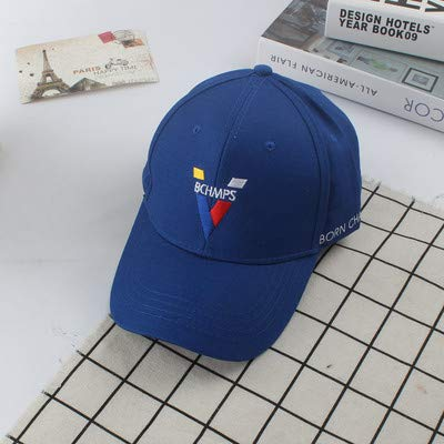 wtnhz Fashion items Embroidery letters yellow peaked cap student street dance visor baseball cap