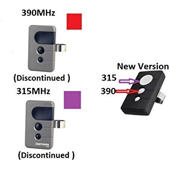 2 Garage Door Opener Remotes For Sears Craftsman Liftmaster 139 53681 971lm Amazon Com