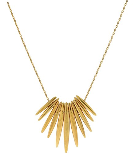 Michael Kors Women's Tribal Pendant Necklace Gold