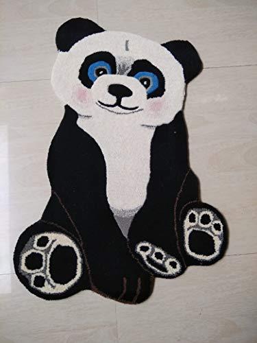 Naksh Collection 2' x 3' Multipurpose Hand-Made Animal Mat/Rug/Doormat/Yoga mat/bathmat/Kids mat/Bed...