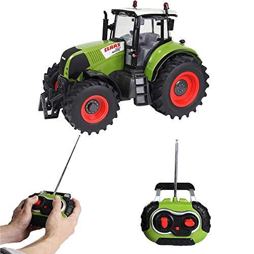 Minimew Claas Traktor Ferngesteuert, 1:16 Modell Bauer Auto, Fernbedienung Auto Kinder 2,4 G...