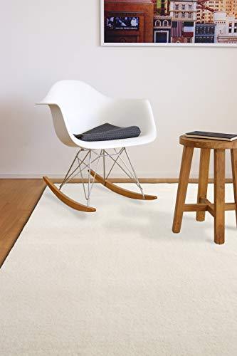 floor factory Gabbeh Teppich Karma Natur 80x150 cm - handgefertigt aus 100% Schurwolle