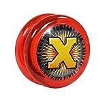 Yomega Yoyó Power Brain XP - Yoyó de Respuesta Profesional con Smart Switch, Que Permite al Usuario Elegir Entre el Retorno automático o un Estilo Manual (Rojo)