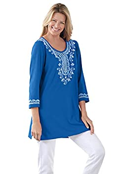 embroidered tunics for women
