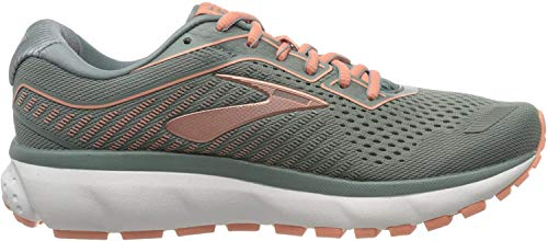 Brooks Ghost 12, Women's Running shoe, Lead Gray Desert, 8 UK (42 EU)