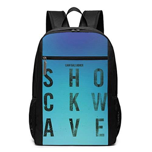 ZYWL Liam Gallagher 17 im Rucksack Unisex Neuheit Wanderrucksäcke/Camping Rucksack/Schultasche/Travel Daypack