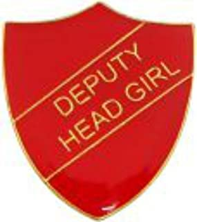 Badge Deputy Head Girl (rouge)