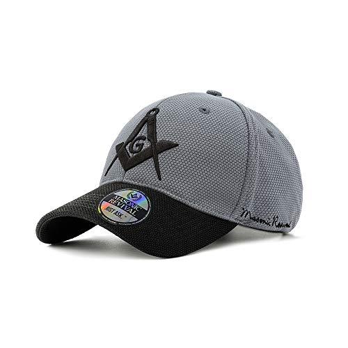 Masonic Revival - Tarde Cap (Stretch Fit L/XL) Gray