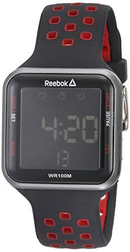 Amiaire Reloj Digital Reebok Unisex. Caja ABS con correa en silicona. Diseño y elegancia en una sola pieza.