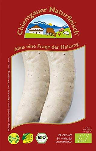 Chiemgauer Naturfleisch Bio Münchner Weißwurst (6 x 140 gr)