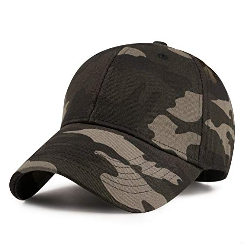 GADIEMENSS Sports Hat Breathable Outdoor Run Cap Camo Baseball caps Shadow Structured hats (Army Green)