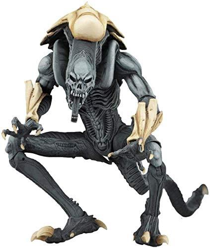 """Qivor Muñecos y Figuras de acción Juegos - Aliens Vs Predator - 7"""" Alien Escala Serie Guerrero Figura de acción I de colección for los Aficionados Extranjeros Serie I"""
