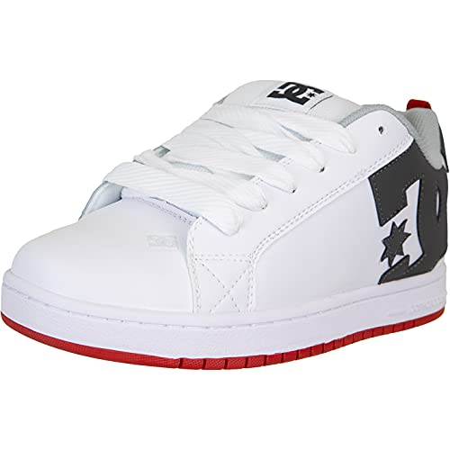 DC Shoes Zapatillas Court Graffik, color Blanco, talla 43 EU