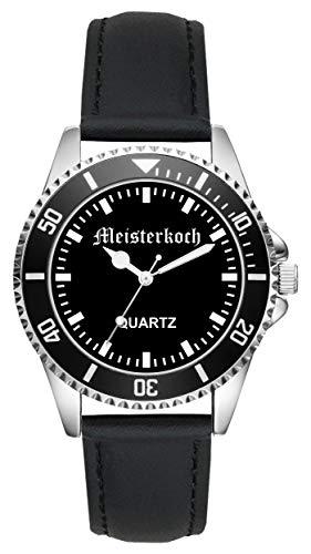 Geschenk für Hobby Meister Koch Köche Uhr L-2233