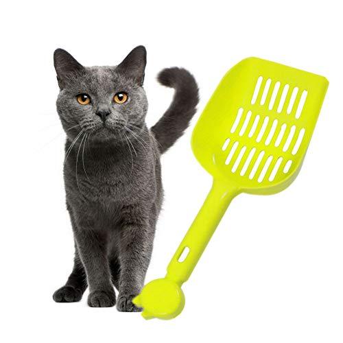 Katzenklo Schaufel Katzenschaufel Dauerhafte Katzenstreuschaufel Pooper Scooper Katzen Haustierstreuschaufel Katzenstreuschaufel Mit Ständer Green
