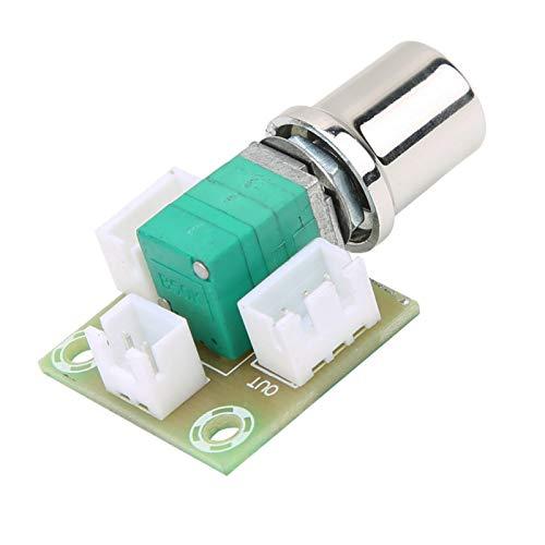 Potenciómetro, control de volumen Interruptor de potenciómetro profesional doble duradero de 50 K de alta precisión para reemplazar piezas antiguas para uso profesional