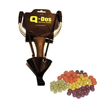 Specialist Long Range Catapult For Carp Fishing Boilies Baits by Q-DOS