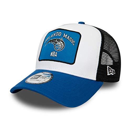 A NEW ERA Era Orlando Magic NBA Cap Trucker Kappe Basketball Verstellbar Snapback Weiss - One-Size