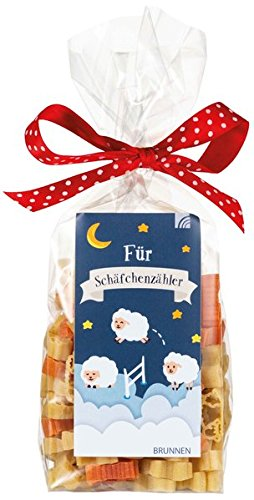 Für Schäfchenzähler: Nudelpackung 200 g, Nudeln in Schaf-Form