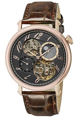 [ゾンネ] 腕時計 H025 H025PG-BK メンズ ブラウン