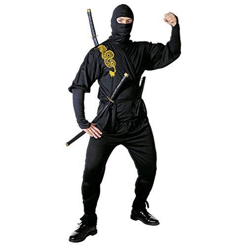 Widmann 39193 - Kostüm Ninja, Coat,...