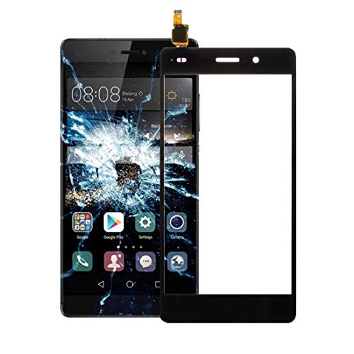 Dmtrab para Repuesto for digitalizador de Panel táctil Huawei P8 Lite (Negro) Panel táctil (Color : Black)