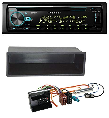 caraudio24 Pioneer DEH-X7800DAB DAB MP3 CD USB Bluetooth Autoradio für Peugeot 207 307 Expert Partner