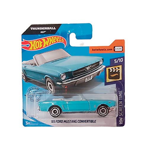 Hot-Wheels \'65 Ford Mustang Convertible 007 Thunderball HW Screen Time 5/10 2020