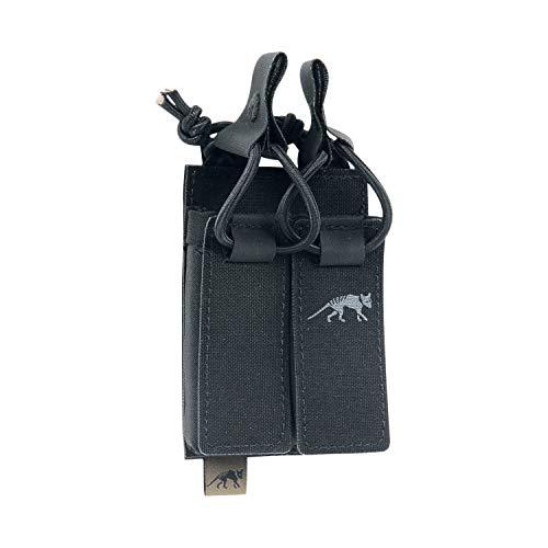 Tasmanian Tiger Unisex– Erwachsene TT DBL Pistol Mag Pouch Bel VL Magazintasche, Black, 10 x 7 x 2 cm