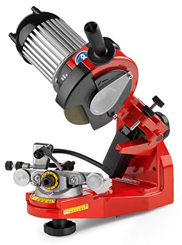 Tecomec Super Jolly Bench Mounted Chain Grinder (120V) with Hydraulic Clamp 115