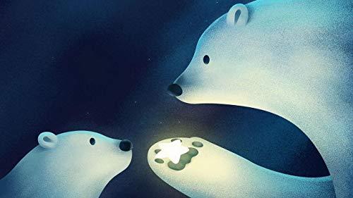 Puzzle 500 Piezas Puzzles Y Rompecabezas Juguetes Y Juegos - Dale Un Regalo Al Osito Polar Puzzles Educativo Intelectual Descomprimiendo Juguete Divertido Juego Familiar Para Niños Adultos