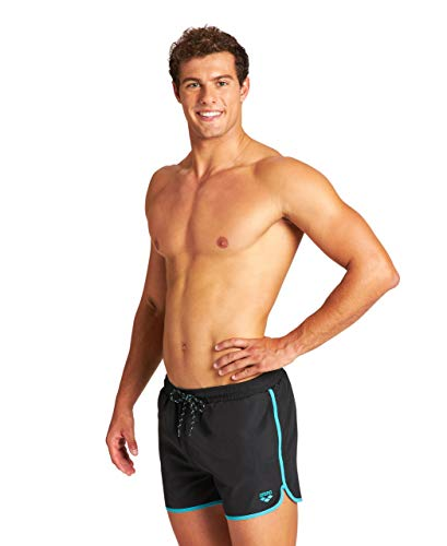 ARENA Slip da Nuoto da Uomo Brampton X-Short, Uomo, Costume a Slip, 4277, Black Martinica, M