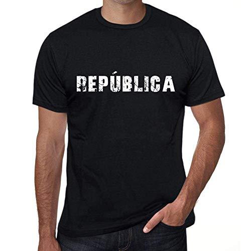 One in the City república Hombre Camiseta Negro Regalo De Cumpleaños 00550