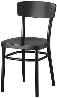 Amazon.com: Recoger 4 pieza Conjunto de comedor en negro ...