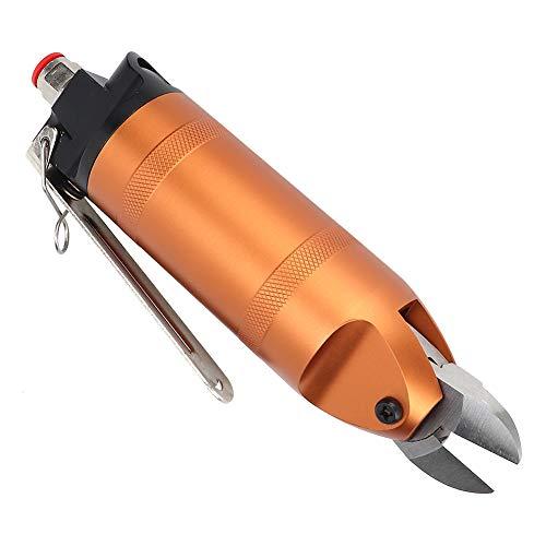 Pneumatische Schere, Schneidwerkzeug, schlagfeste leichte pneumatische Schere zum Schneiden von Edelstahldraht Industrie Schneiden von Kupferdraht Schneiden von Eisendraht(HS20-F5)