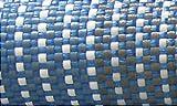 LI.GI STUOIA Veranda Tappeto Pavimento Camper Caravan Carrello Tenda Grammi 500 M² CM 250X350 (Blu)
