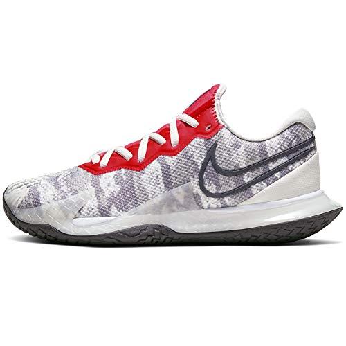Nike CD0431-004, Scarpe da Corsa Donna, Platinum Tint/Thunder Grey/Laser Crimson, 40 EU