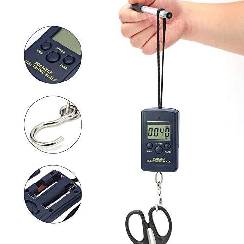 YGGY 40 kg x 10 g Digitalwaage Hängen Tragbare elektronische Mini-AngelhakenTasche WaageEssentialsWaage