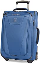 Travelpro Maxlite 4-Softside Expandable Rollaboard Upright Luggage, Blue, Carry-On 19-Inch
