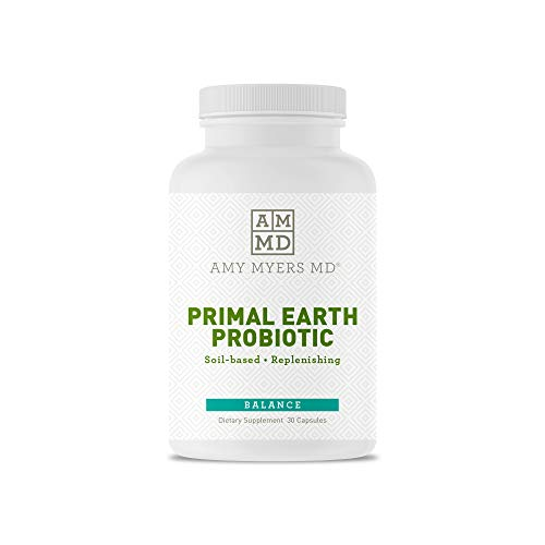 Prescription Strength Three Strain Soil Based Probiotic - Primal Earth Probiotic from The Myers Way Protocol - Promotes Normal Bowel Pattern, Replenishes Healthy GI Microflora – Dietary Supplement