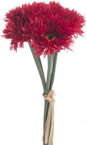 Lot de 3 artificiel Aster spray crème fleurs 58 cm Tall-synthétique Décorations