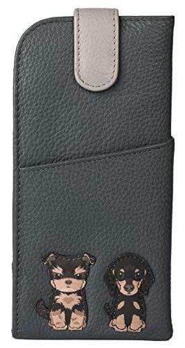 Mala Leather 5156 65 - Funda para gafas de perro (piel suave)
