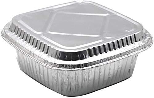 Olla de vapor resistente de 950 ml, se utiliza para parrilla, cocinar, hornear y preparar alimentos con tapa