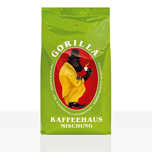 Gorilla Kaffeehaus 12 x 1kg Kaffee ganze Bohne
